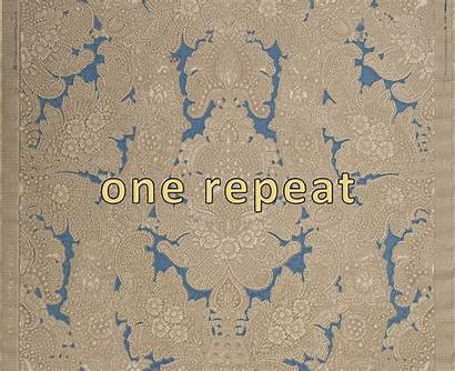 Embossed Damask Tooled Intricately Antique Remnant