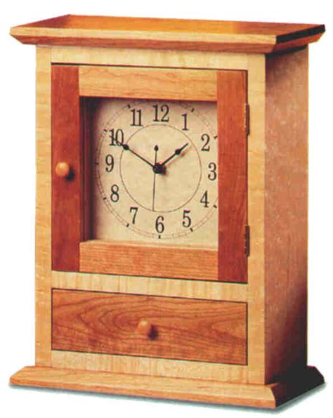 shaker mantel clock plans plans diy