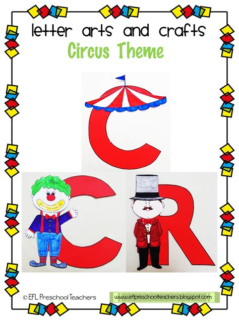Eslefl Preschool Teachers Circus Theme For Ell