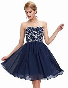 black blue green navy blue prom dresses under 50 robe de With robe courte bal