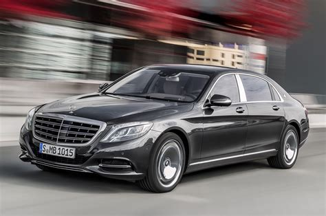 luxury mercedes maybach mercedes revives maybach name for super luxury s class