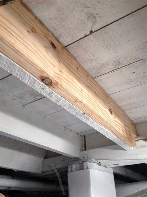 sistering floor joists crawl space master foundation waterproofing specialists crawl