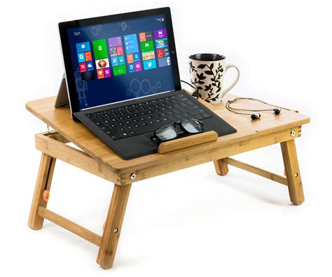 55 in tv stand bamboo laptop cooling stand up to 15 in bed table