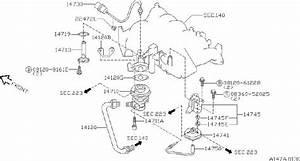 Nissan Axxess Egr Valve Temperature Sensor  Select  Ngk