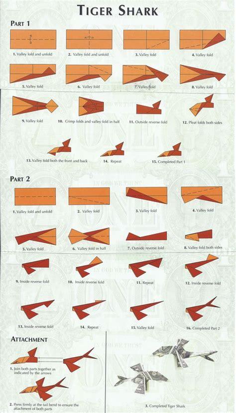 Tiger Shark Money Origami