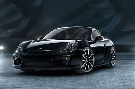 porsche cayman black 2016 porsche cayman black edition shows off stealth beauty