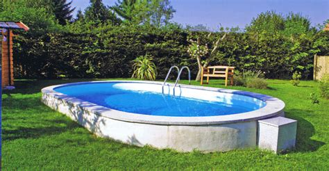 günstige pools zum eingraben ovalformbecken 0 8 mm folie sunday pools onlineshop