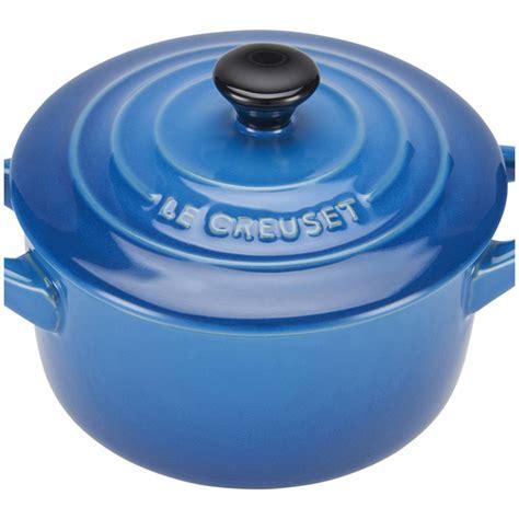 le creuset light blue casserole dish le creuset stoneware petite casserole dish marseille