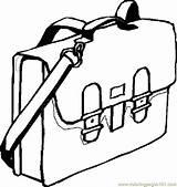 Coloring Bag Supplies Printable Bookbag Drawing Clipart Cliparts Coloringpages101 Education Clipartmag Getdrawings Getcolorings Pdf sketch template