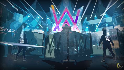 alan walker music wallpapers background computer hd concert stage performance lista vg rock desktop digital backgrounds effects theatre special musical