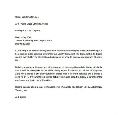 basketball tournament invitation letter sle