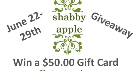 shabby apple gift card learn and grow designs website shabby apple giveaway on my shae noel