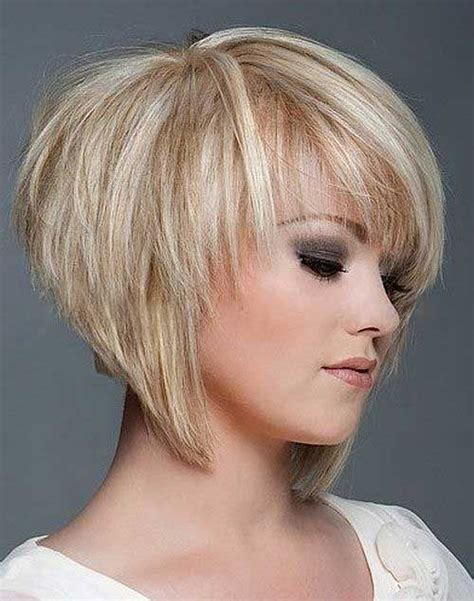 short layered bob haircuts ideas  pinterest