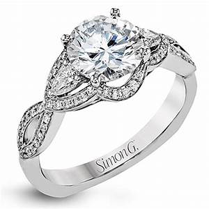 simon g fabled collection diamond engagement ring setting With simon g wedding ring