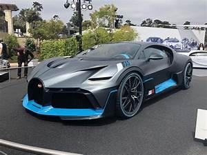 I saw the Bugatti Divo : Autos  Bugatti