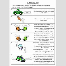 Resultant Force Worksheet By Chempixie  Teaching Resources
