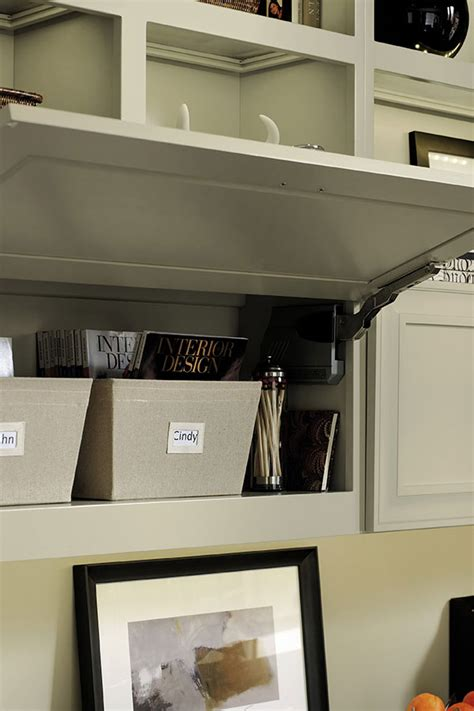 wall lift  hinge cabinet omega cabinetry
