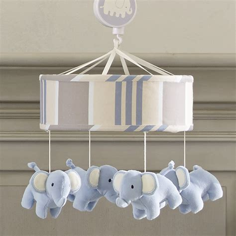 musical mobile for crib signature elephant tales musical mobile lambs