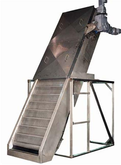 escalator type es perforated plate fine screen