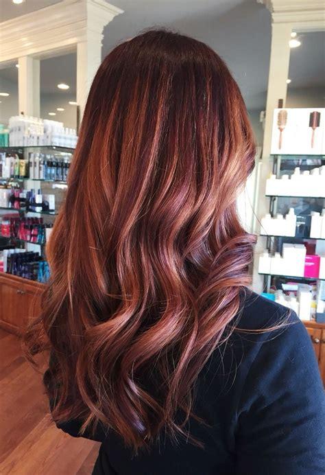 loving   dark rose gold hair  wait