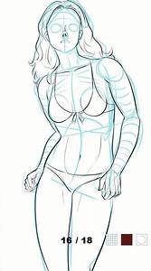 How To Draw Female Body For Android