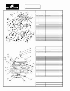 Mcculloch Fg6000mkud-c Parts List
