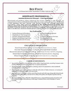 catering service manager resume With hospitality resume writing services