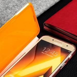 ficial Samsung Galaxy A3 2017 Neon Flip Wallet Cover Pink