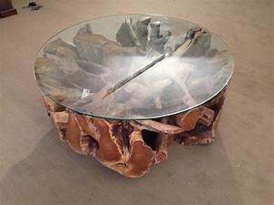 Tisch Rund 100 Cm : wohnzimmertisch baumwurzel der tischonkel ~ Bigdaddyawards.com Haus und Dekorationen