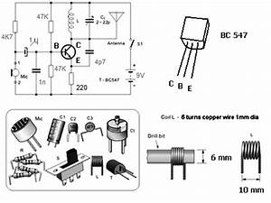 simple fm transmitter with bc549 With easy fm transmitter