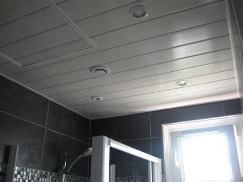 plafond salle de bain moisi salle de bain photo 4 4 plafond d fin des travaux