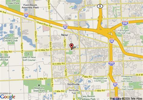 map of staybridge suites detroit novi novi