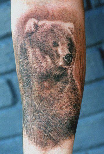 latest bear tattoo designs