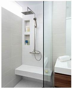 Niche De Douche : banc niche douche m me configuration salle de bain ~ Premium-room.com Idées de Décoration