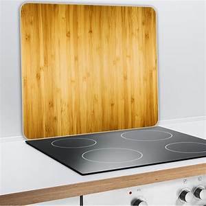 Plaque Protection Murale Cuisine : protection murale en verre bois protection plaques de ~ Dailycaller-alerts.com Idées de Décoration