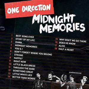Midnight Memories - One Direction Album images 1D MIDNIGHT ...