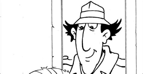 Inspector Gadget Coloring Picture