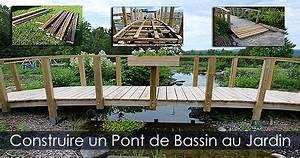 Pont En Bois Pour Jardin : pont japonais de jardin pas cher construire une passerelle plan ~ Nature-et-papiers.com Idées de Décoration