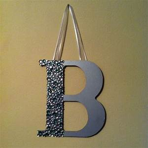 17 best images about cute roommate gifts on pinterest With bedazzled letters