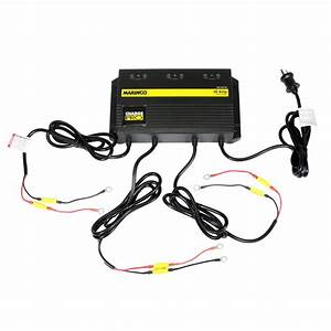 Marinco 12v  24v  36v 10 Amp 3 Bank Charger