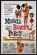 MUSCLE BEACH PARTY (1964) Original one sheet size, 27x41 ...