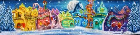 Whoville Grinch Backdrop by Backdrops Whoville 3