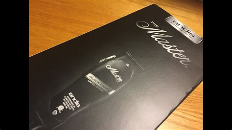 limited edition black label andis master unboxing youtube