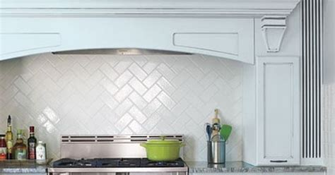 tile splashback herringbone   My Reno Inspiration