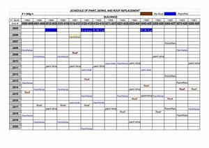 building maintenance schedule template excel xlts With maintenance schedules templates