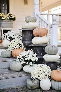 Rustic, Cottage, Farmhouse, Fall, Porch, Steps
