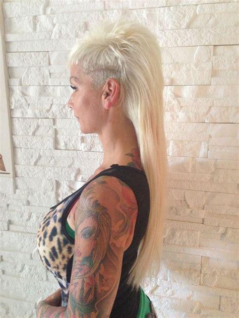 haarverlaengerung sidecut einfach super haarverlaengerung frisuren stylings mit extensions