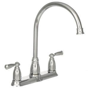 Moen Banbury Kitchen Faucet 87017srs by Moen Banbury High Arc 2 Handle Standard Kitchen Faucet