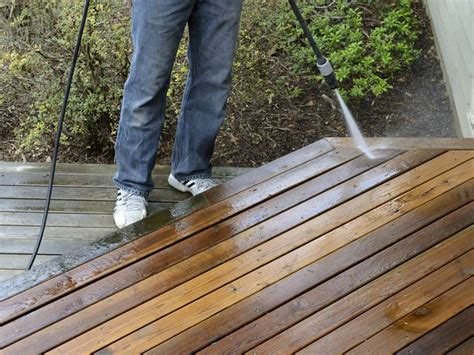 Cleaning Decking With Uk by How To Clean Decking Saga