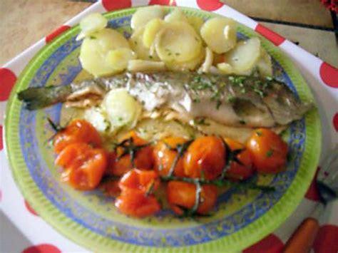recettes cuisine laurent mariotte recette de truite arc en ciel en papillote recette de